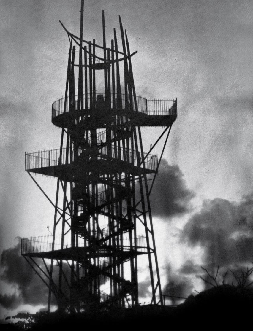 Geoffrey Bawa staircases: Steel Corporation Tower, Colombo, 1964