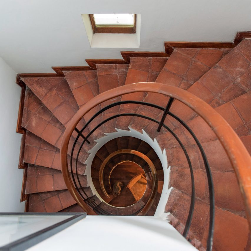 10 staircases designed by Sri Lankan modernist Geoffrey Bawa
