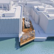 SPPARC's Golden Hinde visitor centre will cantilever over the River Thames