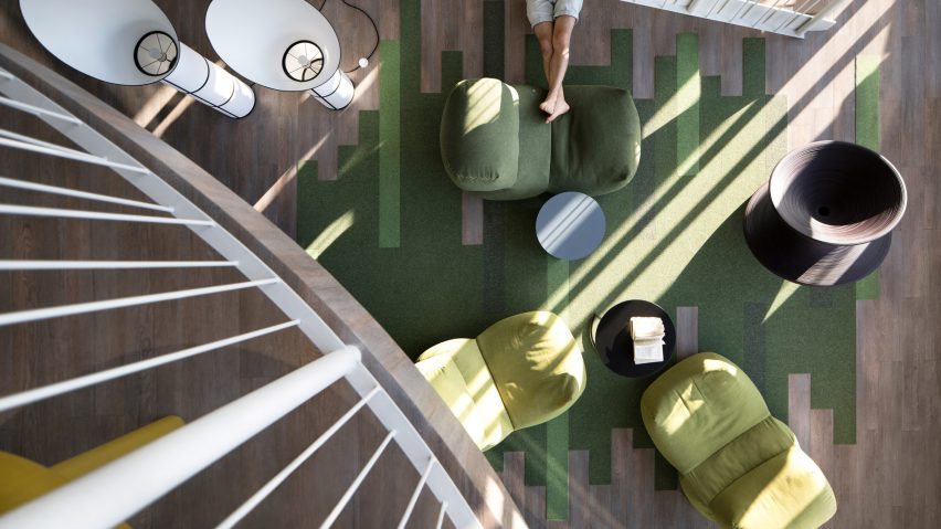 Interiors of Grammarly's Kiev offices, designed by Balbek Bureau