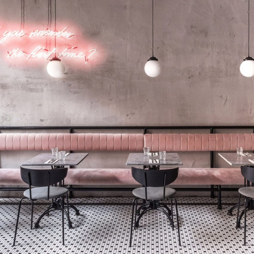 Biasol creates contemporary dining spaces for Grind restaurant and bar