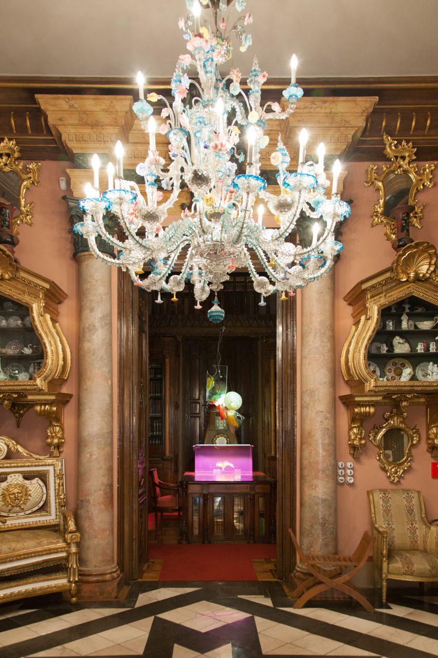 Guillermo Santomà installs sculptural interventions in 19th century mansion