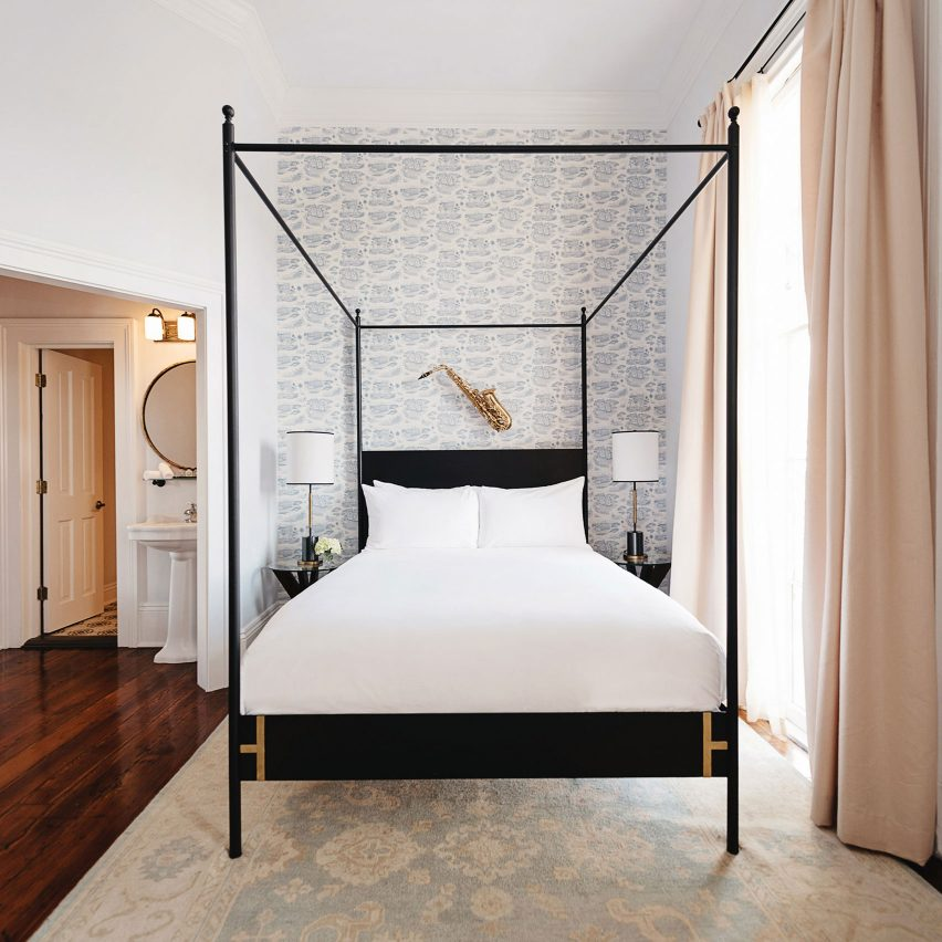 Henry Howard Hotel by Hunter Mabry Design embodies New Orleans' Southern charm