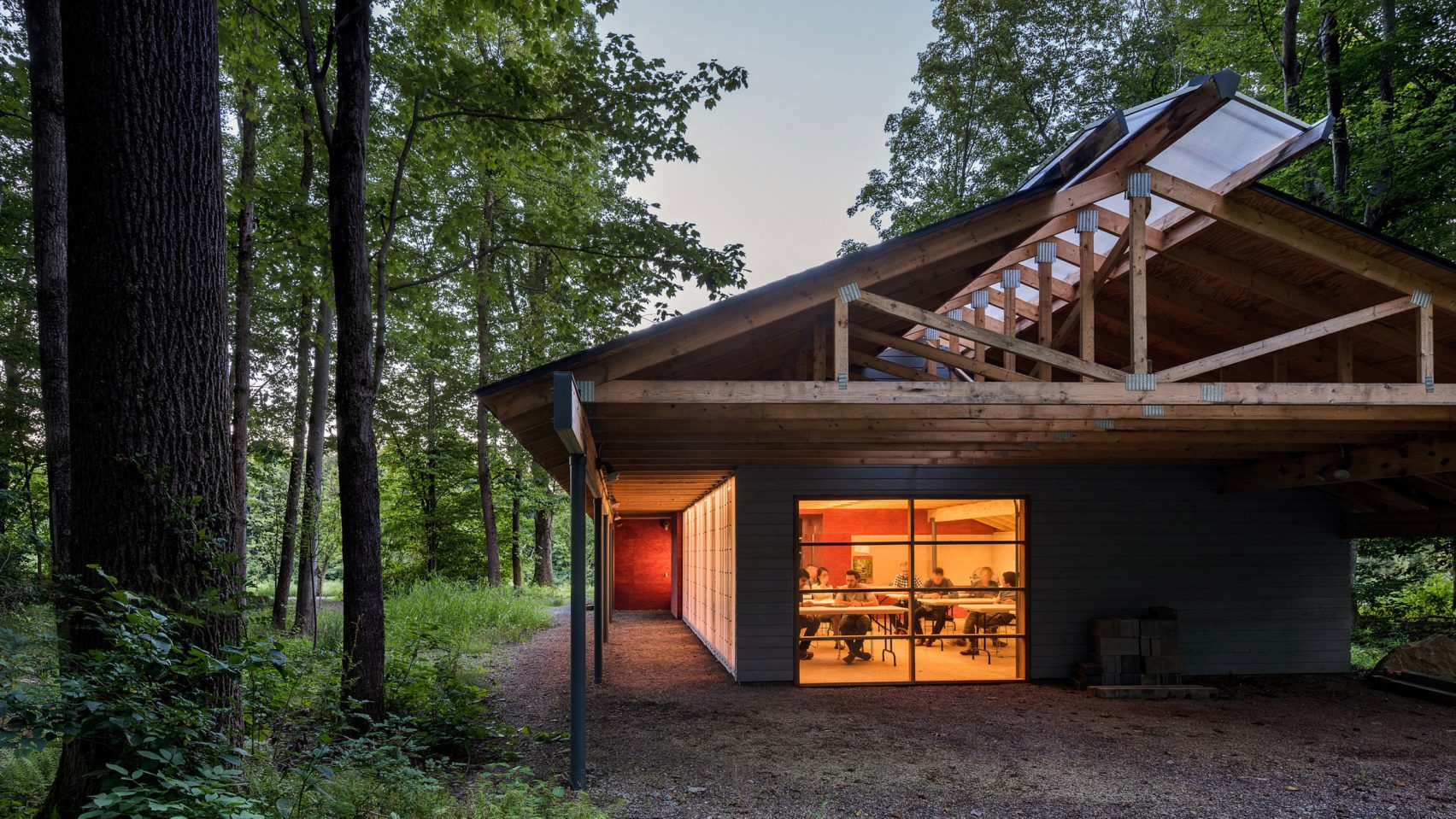 High Meadow Studio at Fallingwater by Bohlin Cywinski Jackson