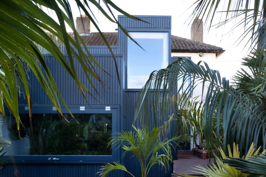 House in a Palm Garden by TAKA