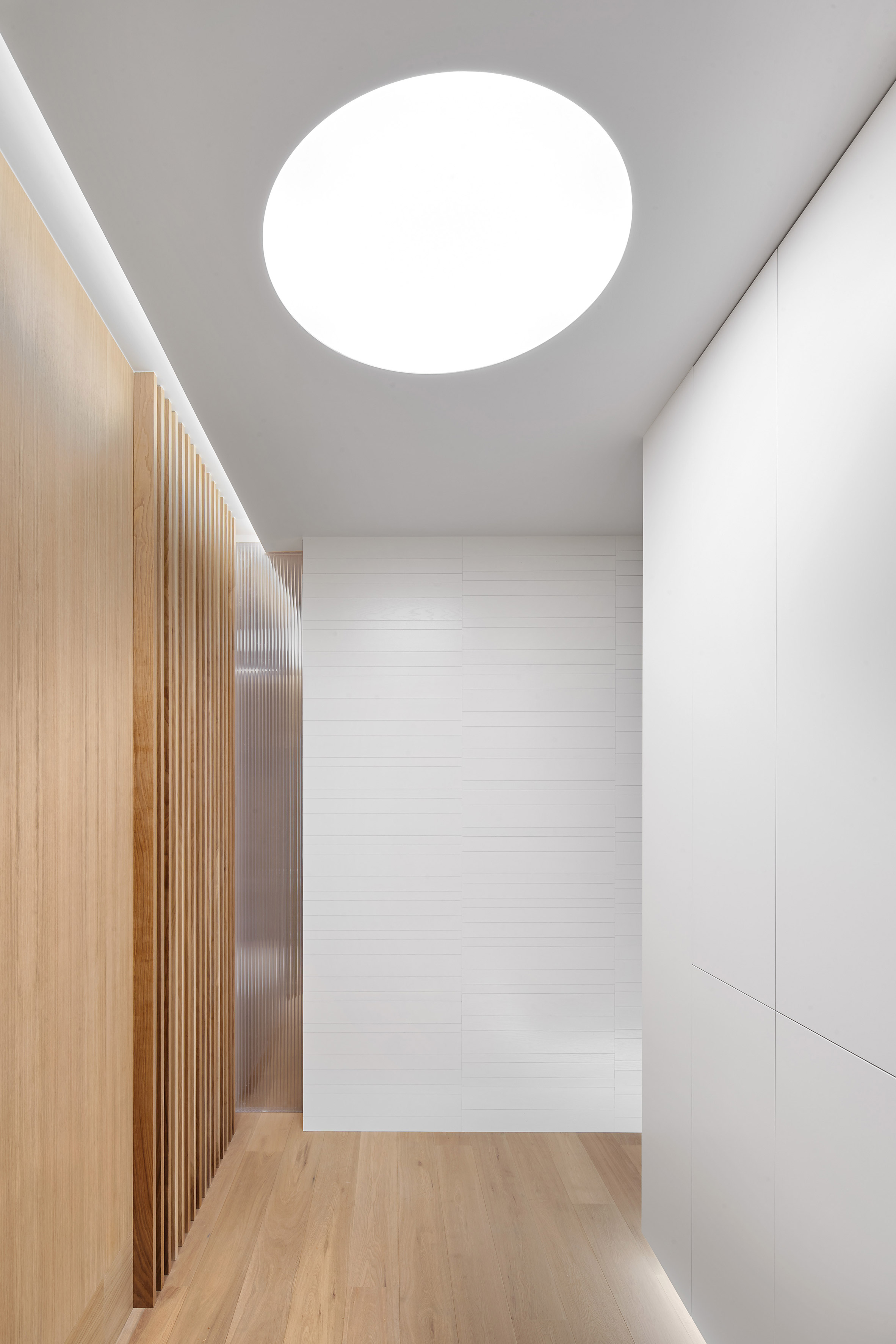 Interiors of Casa P82, designed by Lucas y Hernández-Gil