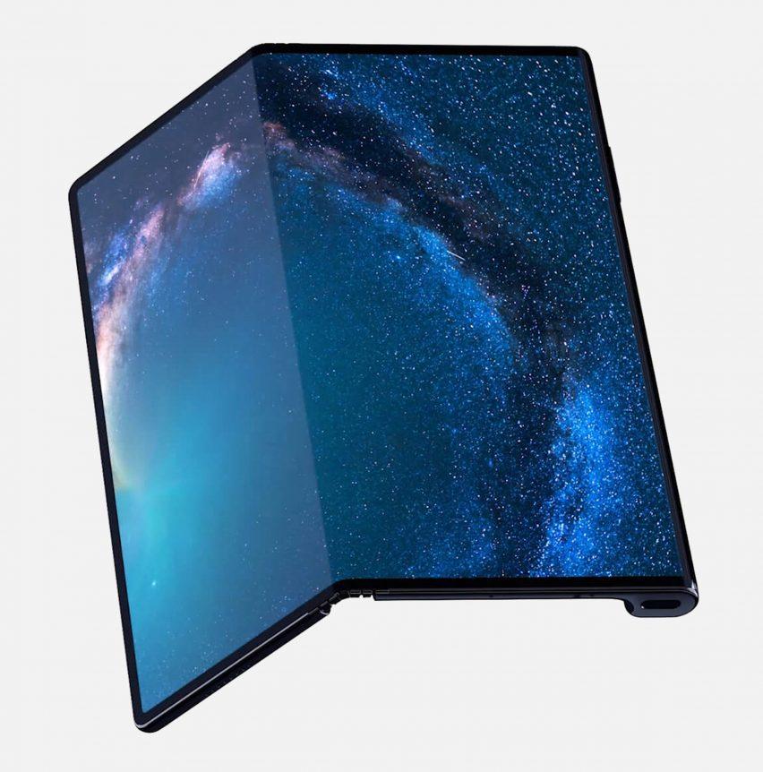 Huawei folding phone Mate X
