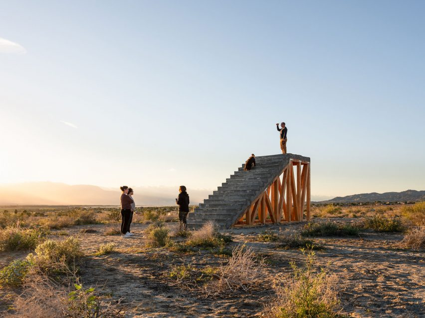 Ivan Argote's installation for Desert X 2019