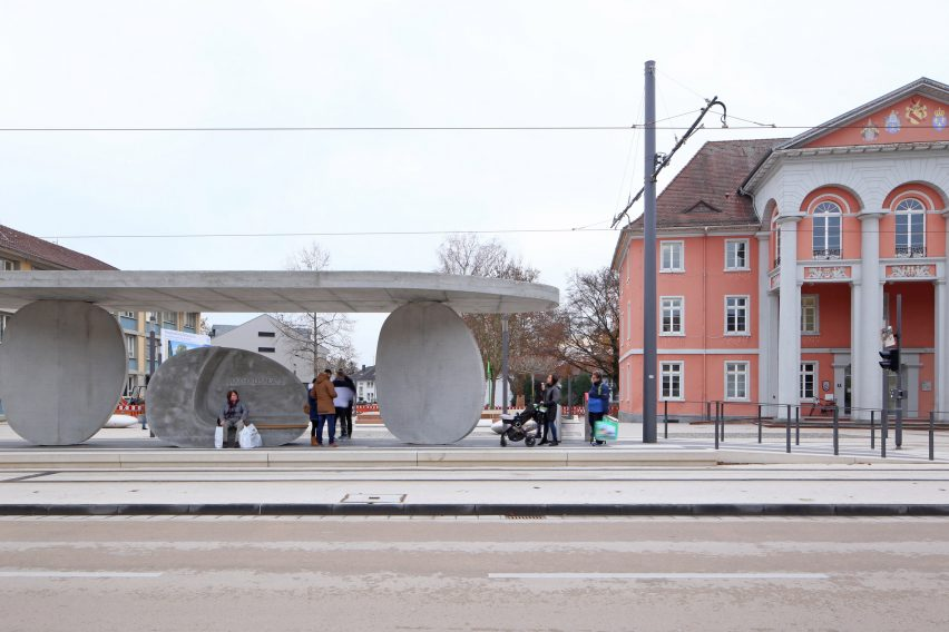 Kehl Tram Stop by J Mayer H