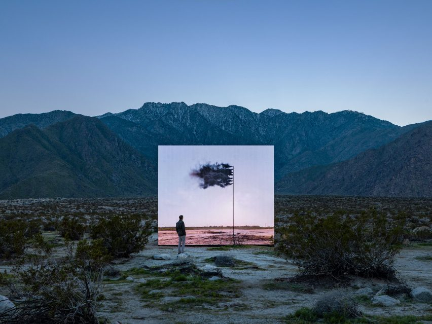 John Gerrard's installation for Desert X 2019