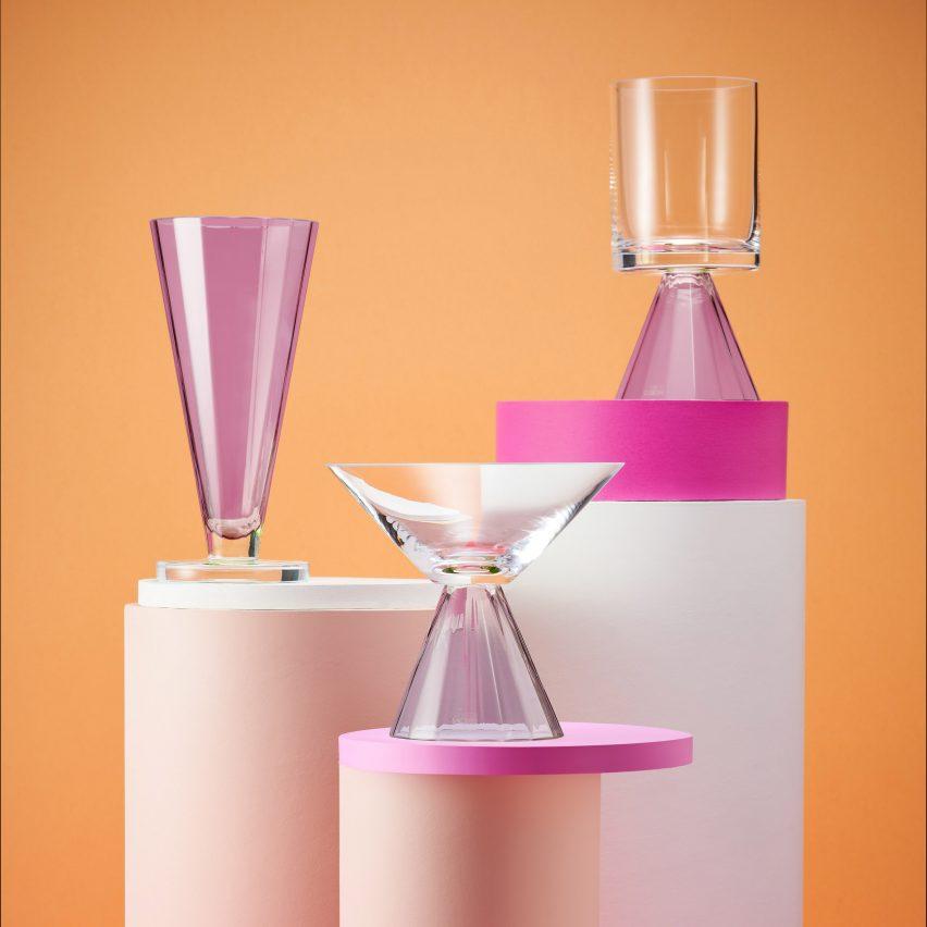 "Karim Rashid designs ""timeless"" glassware collection for Krosno"