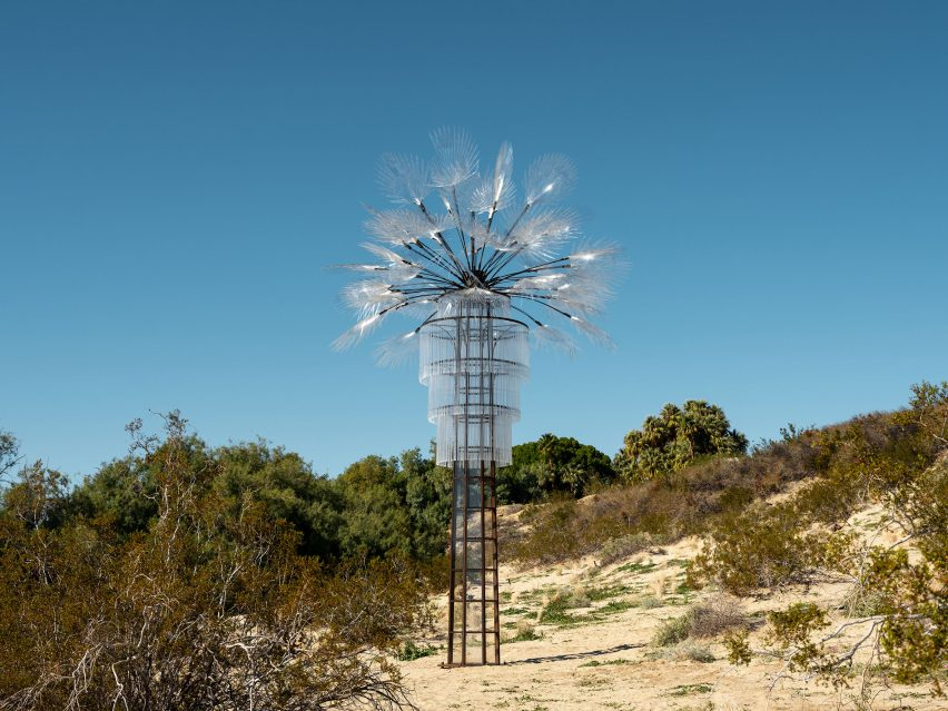 Katie Ryan's installation for Desert X 2019