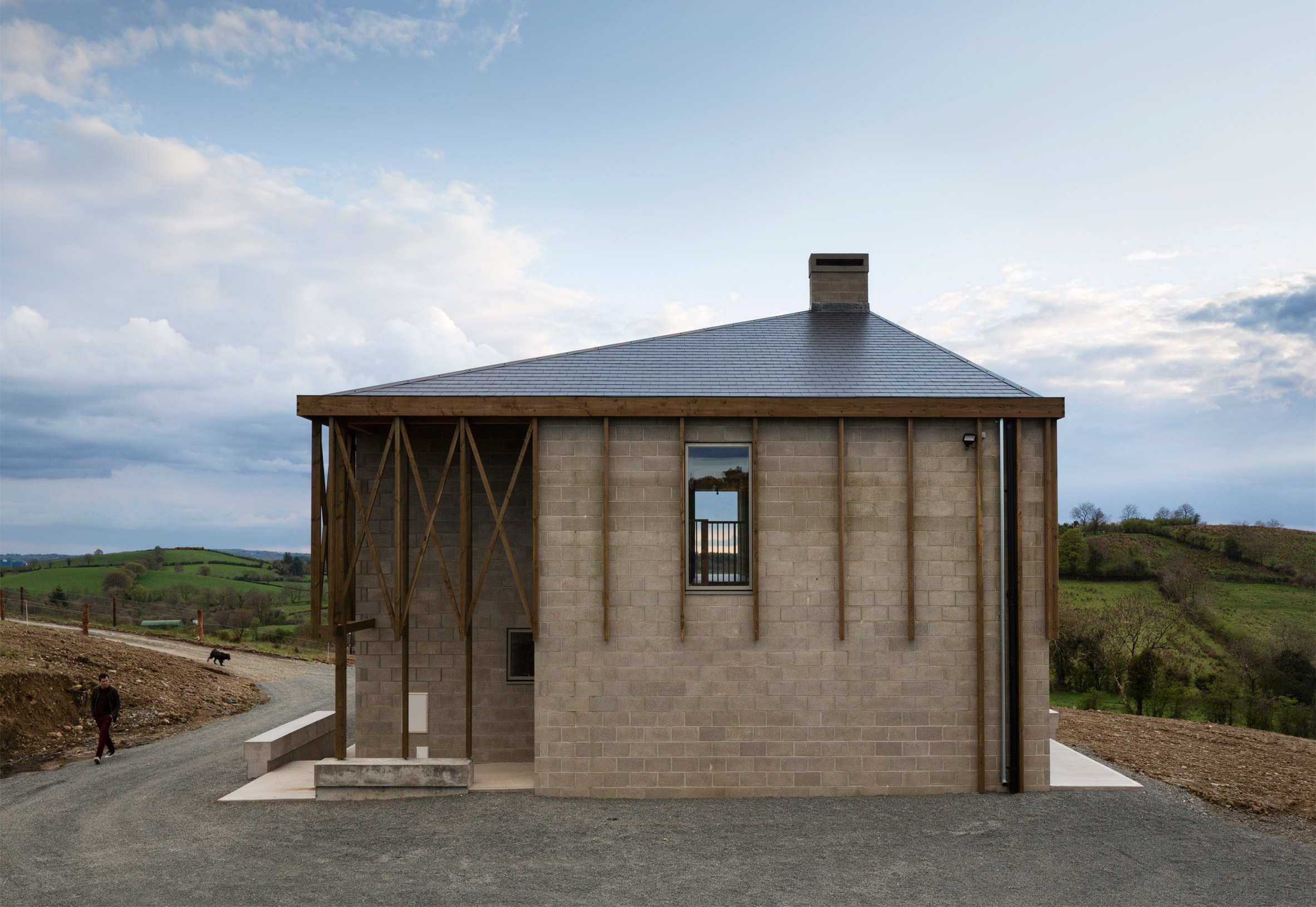 Killan Farmhouse by Thomas O'Brien in Ireland
