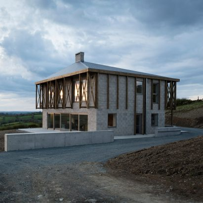 Killan Farmhouse by Thomas O'Brien in Ireland