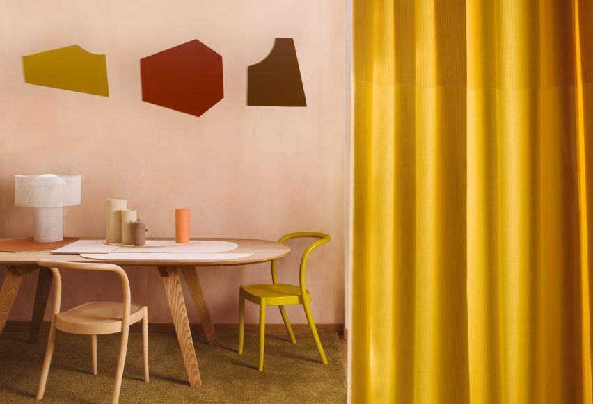 Diorama, Panorama and Suite curtains by Margarethe Odgaard for Kvadrat