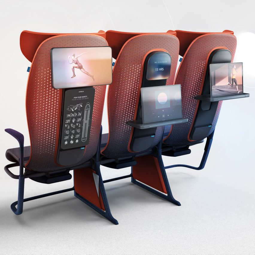 Layer's smart Move seating for Airbus adapts to the passengers needs