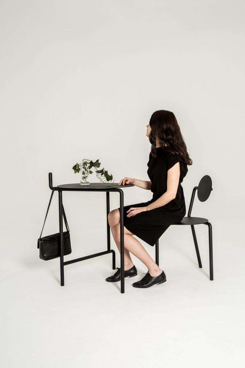 Pierre-Emmanuel Vandeputte Legs furniture