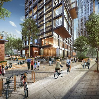 Lincoln Yards neighbourhood masterplan by SOM