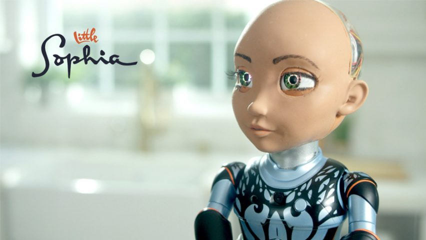 Little Sophia by Hanson Robotics