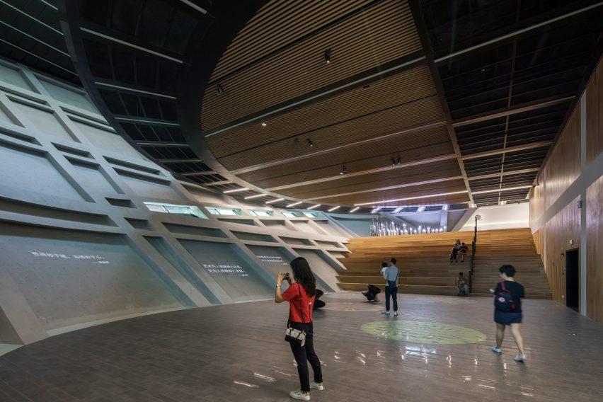Longgang Cultural Centre by Mecanoo