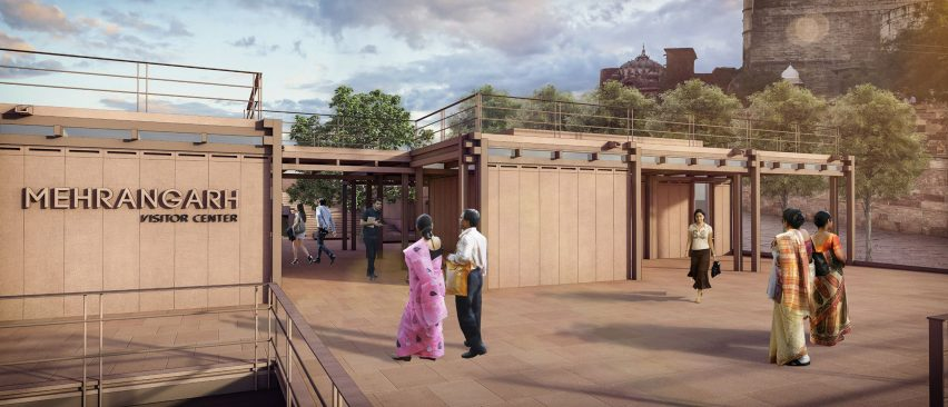 Entrance to the Mehrangarh Fort visitor centre by Studio Lotus