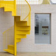 Vine Architecture Studio brightens up Mile End Road home with yellow staircase and skylights