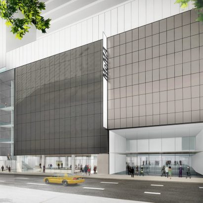 Exterior view of The Museum of Modern Art on 53rd Street