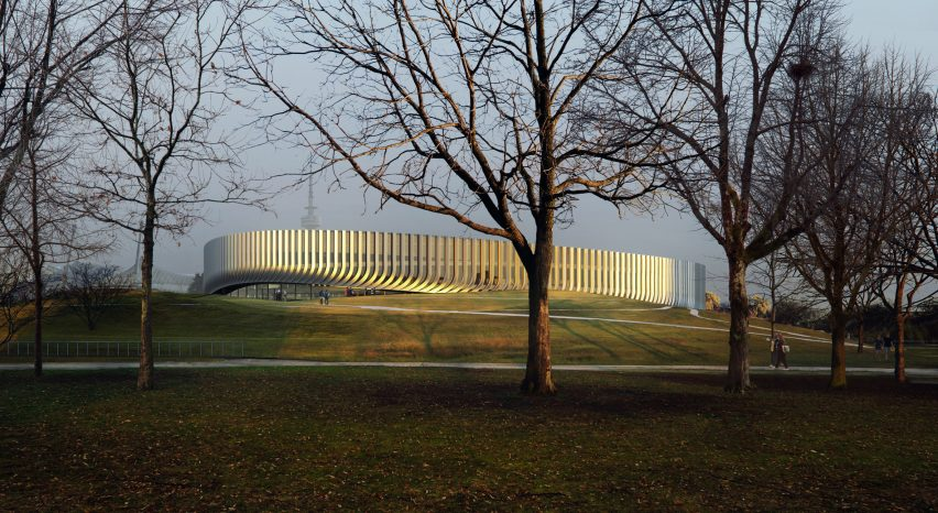 3XN designs arena for Munich Red Bulls and FC Bayern Munich in city's Olympic park
