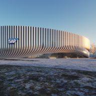 Munich Arena stadium by 3XN