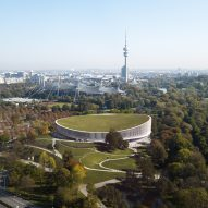 3XN designs ice hockey and basketball arena in Munich's Olympic park
