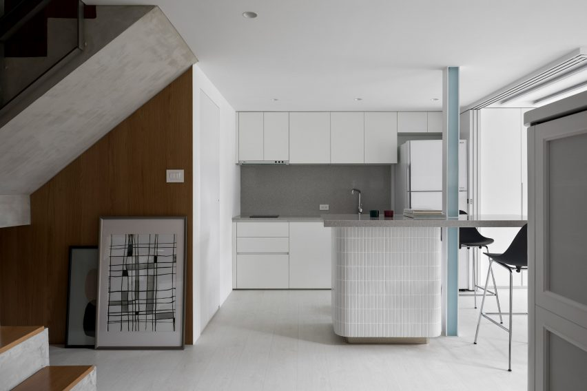 Interiors of Nancy's Big Apartment, designed by Studio In2