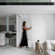 Studio In2 plays with proportions inside Nancy's Big Apartment in Taipei