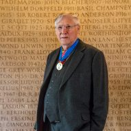 Nick Grimshaw, founder of Grimshaw Architects and winner of the RIBA Gold Medal 2019