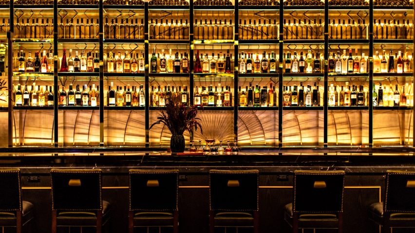 NoMad Las Vegas bar