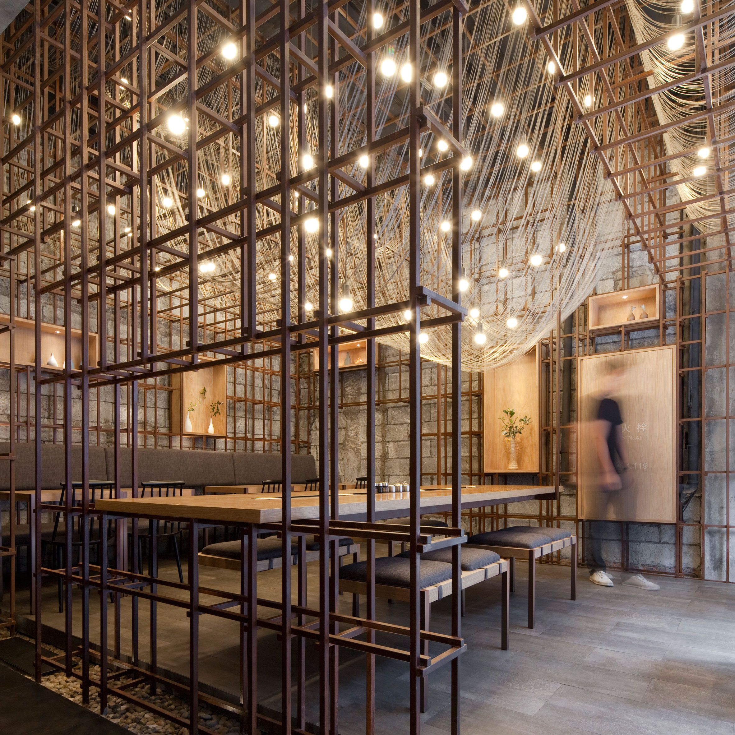 Chinese New Year: The Noodle Rack restaurant in Changsha by Lukstudio