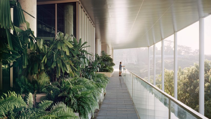 National University of Singapore's SDE4 building is a prototype of sustainable design