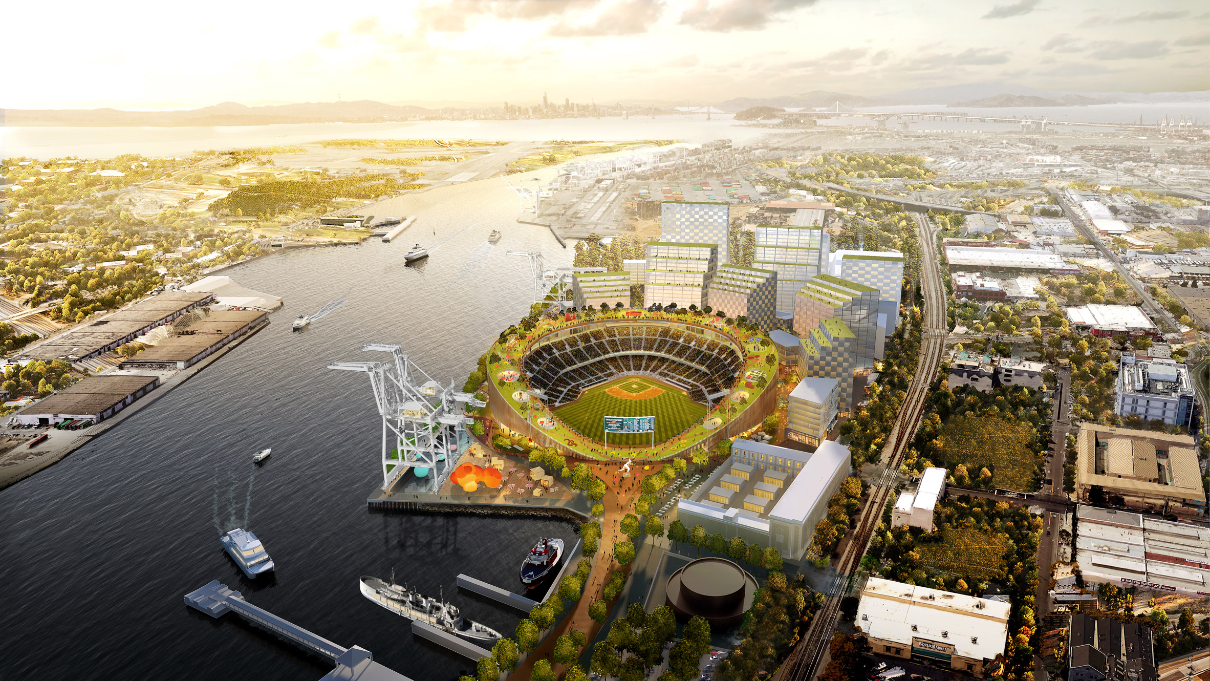 Oakland As redesign by BIG
