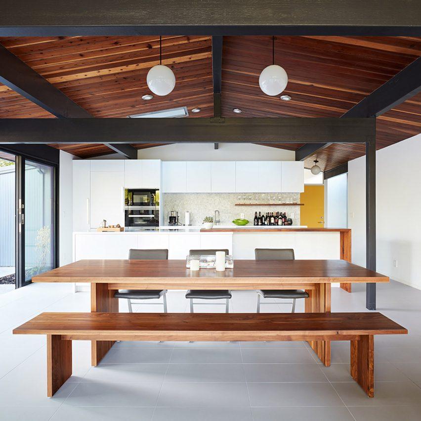 Klopf Architecture updates mid-century Eichler home in Silicon Valley