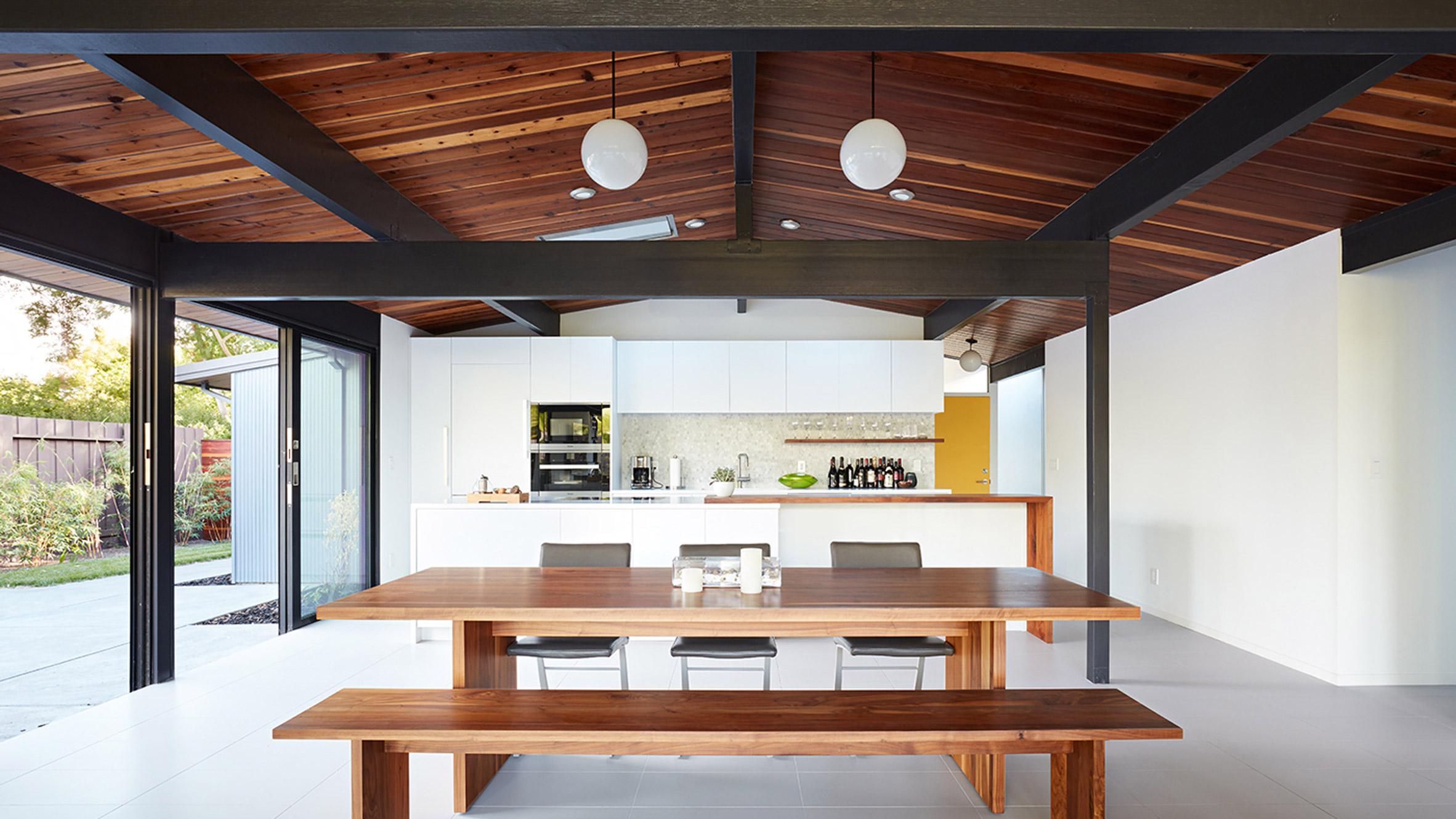 Klopf Architecture Updates Mid Century Eichler Home In