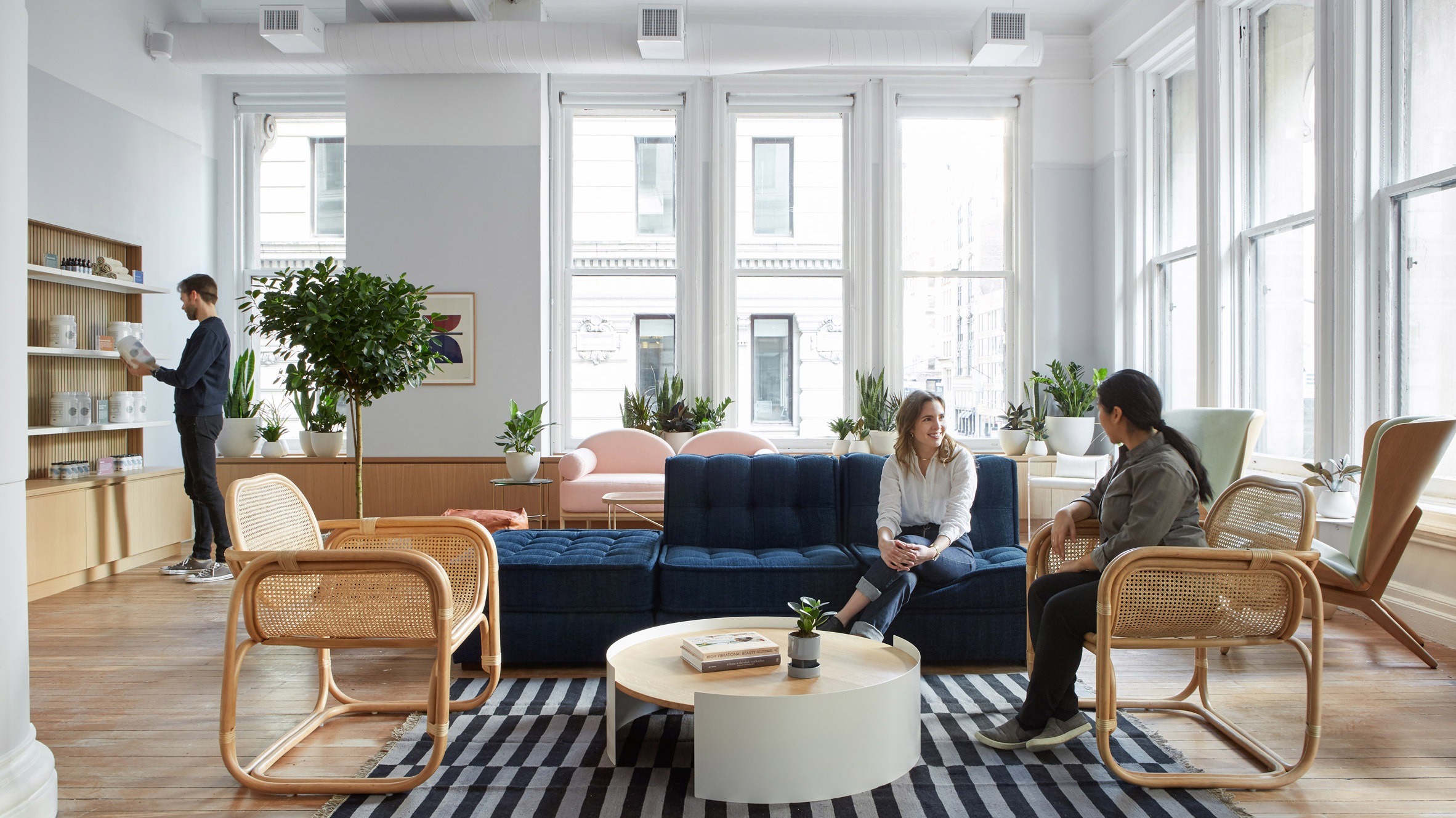 Earthy and homey details feature in New York's Parsley