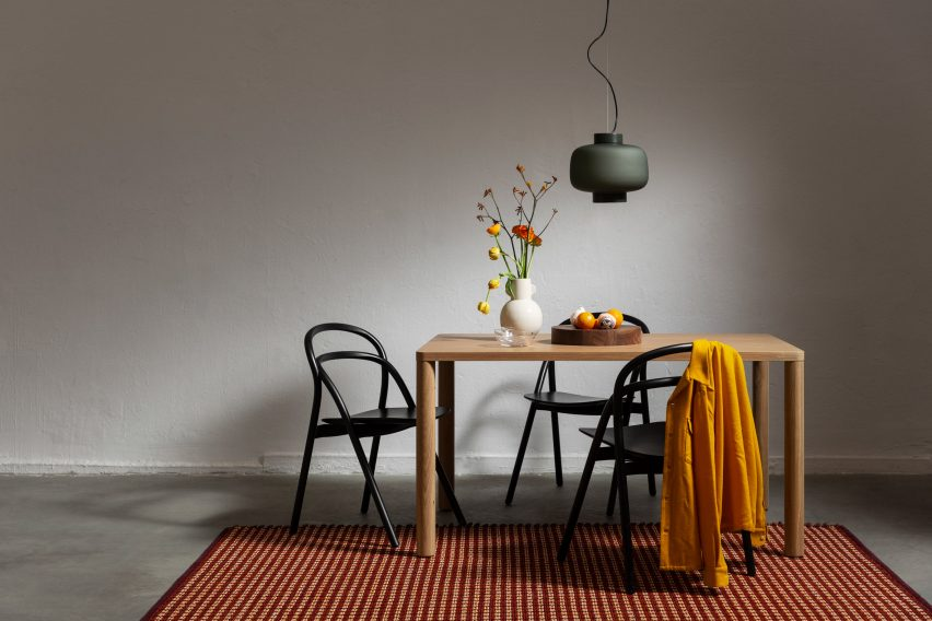 Rope Rug by Pauline Deltour for Hem at Stockholm Design Week