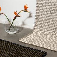 Pauline Deltour Hem rugs at Stockholm Design Week