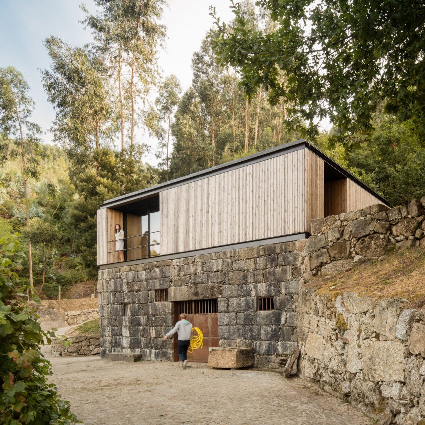 Dezeen's top 10 houses of 2019: Pavilion House by Andreia Garcia Architectural Affairs + Diogo Aguiar Studio