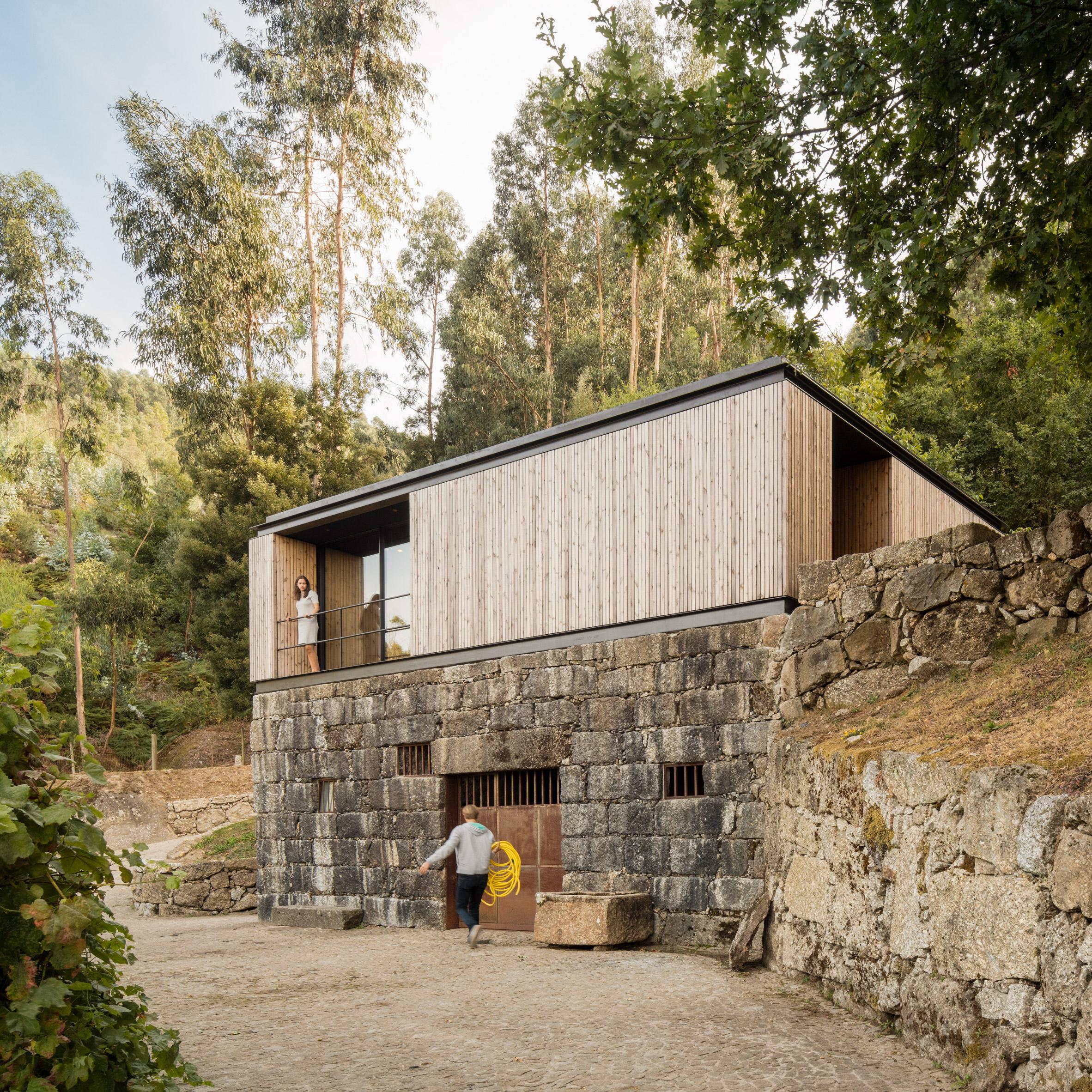 Dezeen's top 10 houses of 2019: Pavilion House by Andreia Garcia Architectural Affairs + Diogo Aguiar Studio