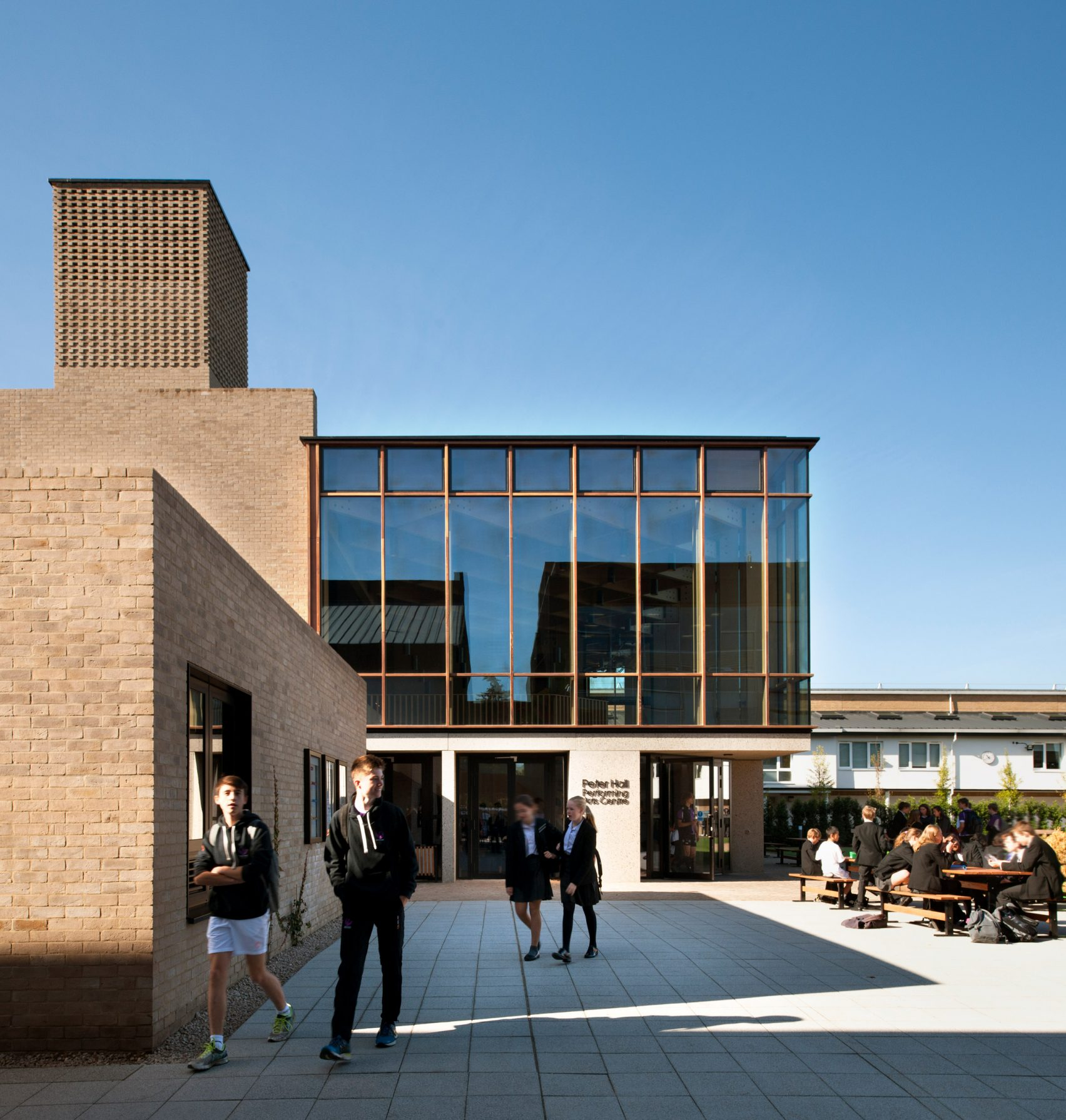 Peter Hall Performing Arts Centre Haworth Tompkins