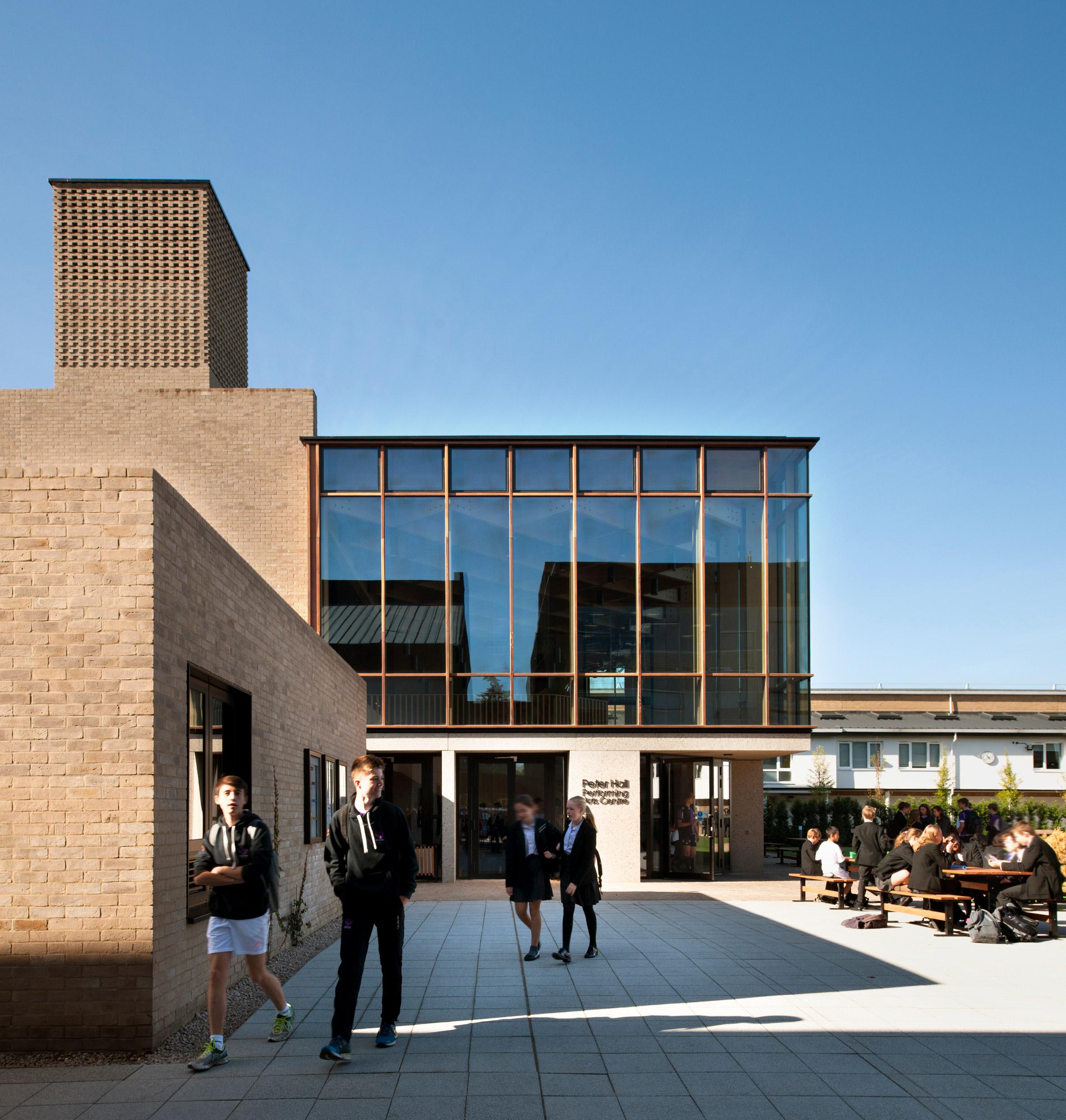 Peter Hall Performing Arts Centre Haworth Tompkins