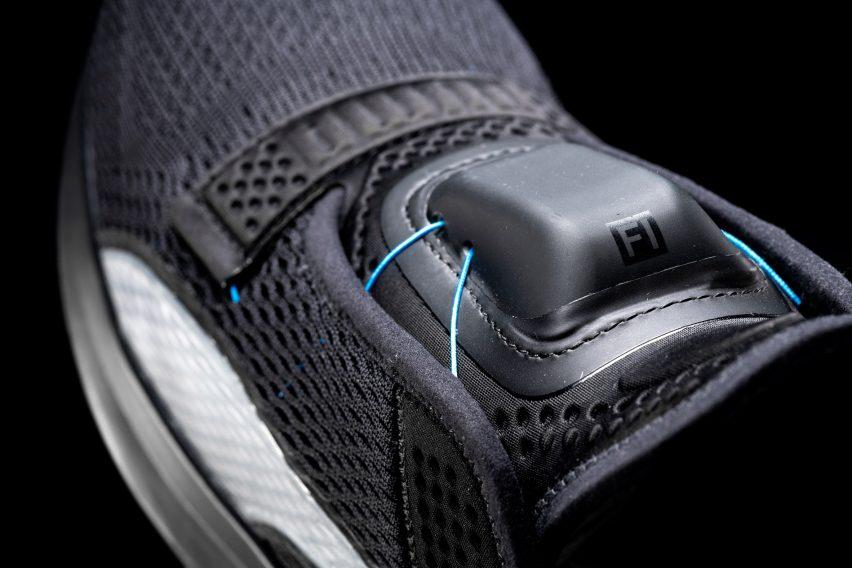 Puma Fi self-lacing trainers