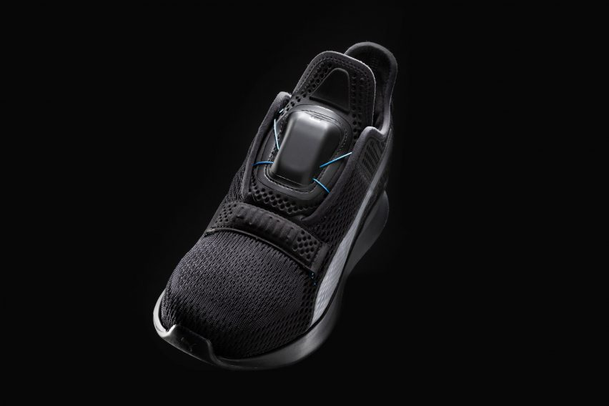 new concept 2d860 bd15a Puma Fi self-lacing trainers
