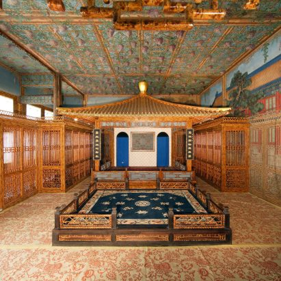 Juanqinzhai theater room in Beijing's Forbidden City