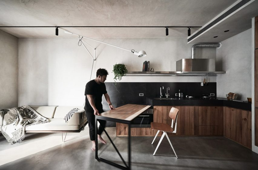 Interiors of Apartment X, designed by KC Design Studio